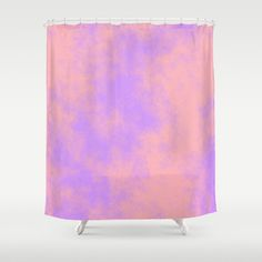 Cotton Candy Clouds - Pink & Purple Shower Curtain