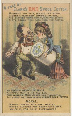 Clark's Spool Cotton | Flickr: partage de photos!
