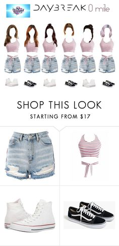 """""""M CountDown (DayBreak - 0 Mile)"""" by maferr ❤ liked on Polyvore featuring Topshop, Converse and J.Crew"""