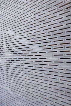 Apartment building in Juarez, Mexico by MOCAA Arquitectos - concrete breeze block