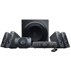 Logitech Z906 Surround Sound Speakers - (RMS) 500-W Subwoofer 165-W, 3D Stereo