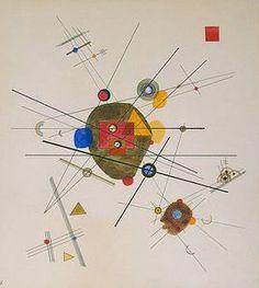 "Wassily Kandinsky - ""Composition III"", 1923"