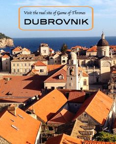 Dubrovnik, Croatia glowing in afternoon light, seen from the wall (Photo Philadelphia Traveling Mom Sarah Ricks) Europe Travel Tips, European Travel, Travel Guides, Travel Destinations, Travel 2017, Travel Articles, Travel Advice, Dubrovnik Croatia, Croatia Travel
