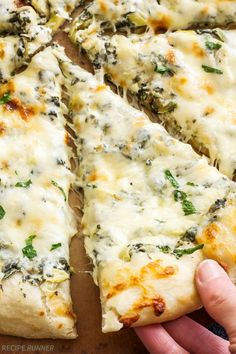 Reall about pizza recipes dough. Reall about pizza recipes dough. Zucchini Pizzas, Grilled Zucchini, Fresh Spinach Recipes, Stück Pizza, Chicken And Cheese Recipes, Artichoke Pizza, California Pizza, Cooking Recipes, Healthy Recipes