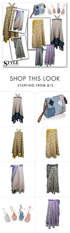 """""""Women's Western Fashion Silk Wrap Skirt"""" by royalimports ❤ liked on Polyvore featuring Marc Jacobs"""