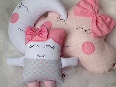 Amazing Home Sewing Crafts Ideas. Incredible Home Sewing Crafts Ideas. Diy Baby Gifts, Baby Crafts, Diy And Crafts, Sewing Toys, Sewing Crafts, Sewing Projects, Baby Pillows, Kids Pillows, Diy Cadeau