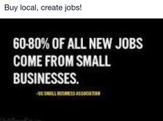 #shopsmall #shoplocal #jobs