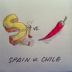 169: Spain vs. Chile