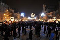 Christmas in Košice, Slovakia Yule, Joyful, Cities, Around The Worlds, Culture, Concert, Winter, Christmas, Travel