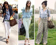 como usar camisa jeans claudinha stoco 3 Como usar camisa jeans!?