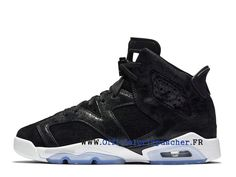 198e700a5325 Air Jordan 6 Retro GS Chaussures Air Jordan Basketball de qualité Prix Pour  Femme Heiress Black Suede 881430 029-Basket Air Jordan Site Officiel Moins  cher ...