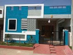 House Elevation Plans Hyderabad ground floor home elevations, Best house design - YouTube False Ceiling Living Room, Bedroom False Ceiling Design, Chandeliers, House Elevation, Front Elevation, Building Elevation, Elevation Plan, Independent House, Art Deco