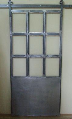 Drzwi przesuwne w stylu loft / przemysłowy