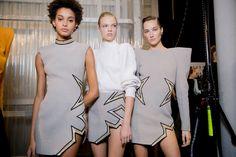 Mugler - backstage Paris Fashion Week Fall 2017