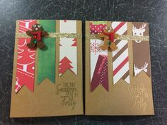 A Beginner's Guide To Card Making - The Butterfly Mother Christmas Themes, Christmas Crafts, Stick Figures, Stamping Up, Handmade Christmas, Amy, Spiritual, Card Making, Gift Wrapping