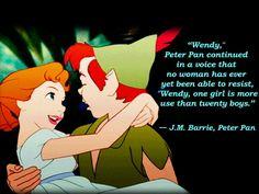 Cute  Peter Pan Quote by JessiPan.deviantart.com on @deviantART