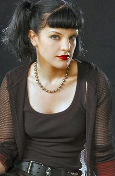Pauley Perrette - we LOVE ABBY and named our dog after her!