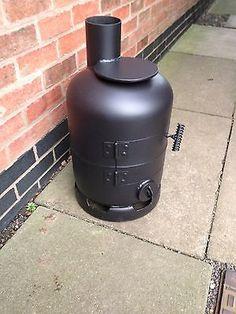 gas bottle wood burner - Google Search