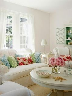 i love this white room with pops of color by candi.reeder.1