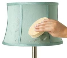 Unsure of how to clean certain home furnishings, like lamp shades & more? Find out how to clean them here: