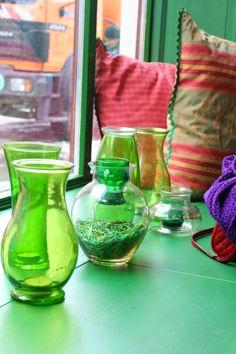 decor cafeneaua verde