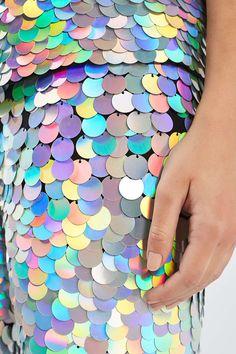 Hologram Sequin Leggings by Rosa Bloom