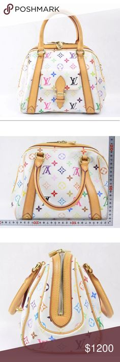 ccb06ae1a6ce Auth Louis Vuitton Priscilla Satchel Bag Very stylish in excellent  condition. Exterior shows minor rubs