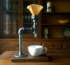 Industrial Pour Over Coffee Maker Free Shipping by StudioDacotah