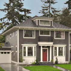 Exterior Paint Design, Pictures, Remodel, Decor and Ideas - page 14