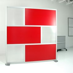 6' Screen with Translucent & Solid Color Panels