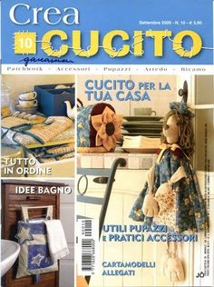 Crea Cucito Nº 10 - Jôarte arquivo - Picasa Web Albums