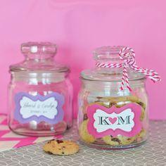 Personalized Mini Cookie Jars