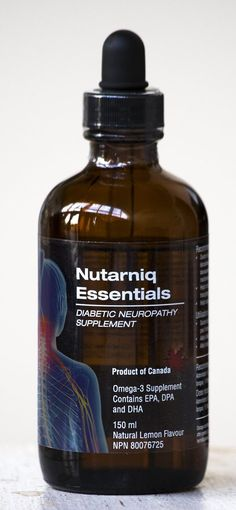 Nutarniq Essentials is the diabetic neuropathy supplement develop from the first trial to show nerve regeneration in people with diabetes and nerve damage. Omega 3 Supplements, Nutrition Tracker App, Diabetic Neuropathy, Natural Pain Relief, Clinical Research, Diabetes Management, Home Remedies, Whiskey Bottle, Therapy