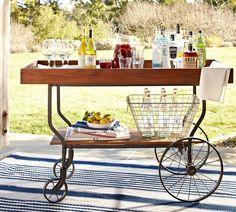 Tavern Bar Cart | Pottery Barn