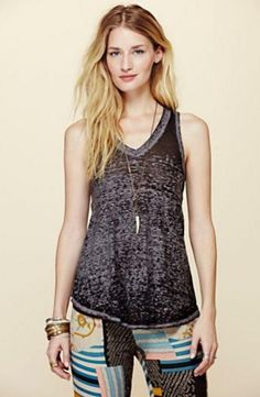 Free People breezy tank ~ The Blue Rose