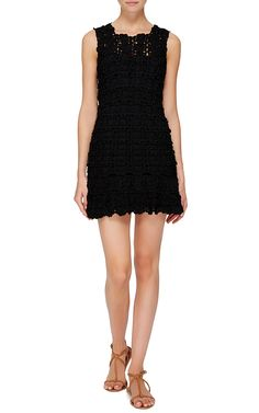 black fit and flare marlyn dress