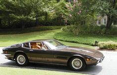 1972 Maserati Ghibli SS 4.9L V8, with Borrani Wire Wheels. I purchased this classic in 1982 with 14,000 original miles. I paid a dollar a mile to purchase it. Five years later, when it had 19,000 miles, I sold it for $72,000. It's always a mistake to trade away joy for money....