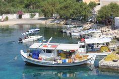 amazing crystal clear waters - fiscardo bay, kefalonia greece