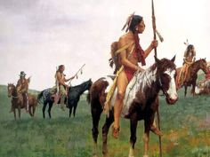 BY HOWARD TERPNING.........PAINTER OF THE PLAIN'S NATIVE AMERICAN........SOURCE BLOGSPOT.COM.......
