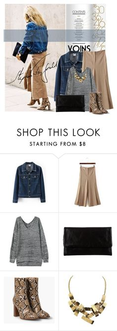 """""""Stylish with Yoins"""" by lacas ❤ liked on Polyvore featuring Martha Stewart, Status Anxiety, MANGO, yoins and yoinscollection"""