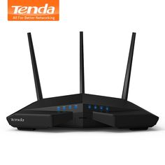 Check Price Tenda English Firmware smart Dual Band WI-FI Router With repeater Remote Control APP Wi Fi, Wireless Wifi Router, Print Server, Router Tool, Usb, Electronic Deals, Bandy, Home Network