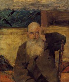 Old Man at Celeyran by Henri de Toulouse-Lautrec