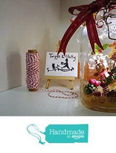 Gingerbread Jam Light Jar from Twiggle & Natty https://www.amazon.co.uk/dp/B01N2GTRDV/ref=hnd_sw_r_pi_dp_GK2kybP45YBDG #handmadeatamazon