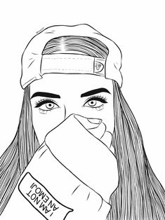 girl drawing Search for Trending Images on PicsArt Tumblr Girl Drawing, Tumblr Drawings, Girl Drawing Sketches, Girl Sketch, Cute Girl Drawing, Manga Drawing, Drawing Tips, Hipster Drawings, Cool Art Drawings