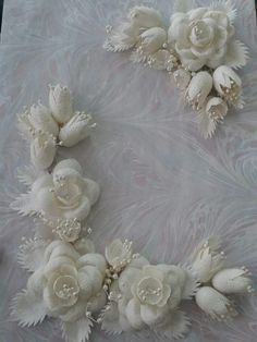 Buy CrafTreat Silk Cocoon White Online In India Silk Ribbon Embroidery, Hand Embroidery, Embroidery Designs, Resin Crafts, Paper Crafts, Craft Websites, Clay Wall Art, Bouquets, Snowman Wreath