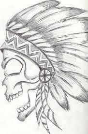 skull drawing - Google Search