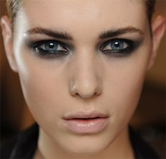 Make-up Moschino, Milan Fashion Week SS12 | #Makeup #CandySays