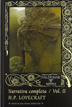 Narrativa Completa Tomo 2 (No Valdemar)