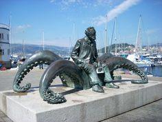 Monumento a Julio Verne (Vigo)