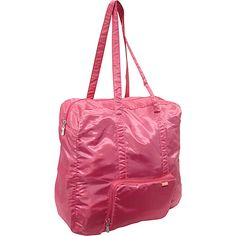 baggallini Medium Zip-Out Travel Bagg Pink - baggallini Lightweight packable expandable bags